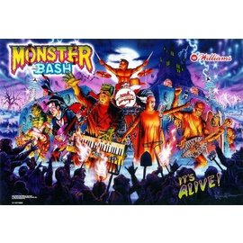 Monster Bash  Back Box  Replacement - Copy