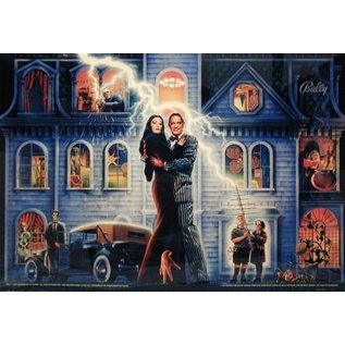 The Addams Family Back Box  Replacement - Copy