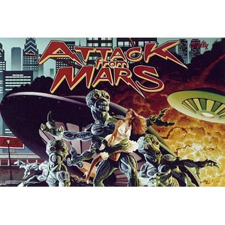 Attack from Mars Back Box  Replacement - Copy