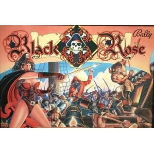 Black Rose  Back Box  Replacement - Copy