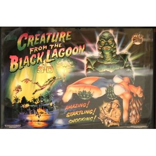 Creature from the Black Lagoon Back Box  Replacement - Copy