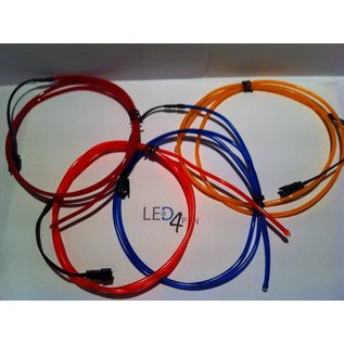WY EL Wire 2,6 mm Plug and Play 1 m cpl