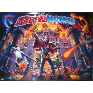 ABLAZE Medieval Madness Back Box Replacement