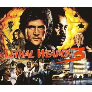 Lethal Weapon 3 Back Box Replacement