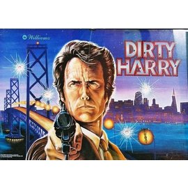 Dirty Harry Back Box  Replacement