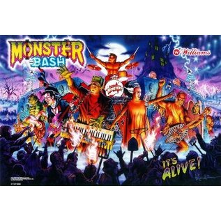 Monster Bash Back Box  Replacement