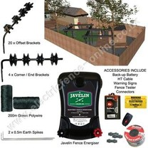 Electric Fence Online Home Security Electric Fence Kit