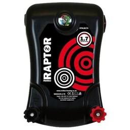 Raptor Battery Electric Fence Energiser - 6V,12V,240V, 1.7J