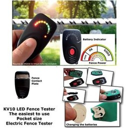 LED Fence Tester | Electric Fencing Accessories