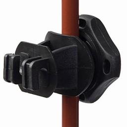 Adjustable Insulator (black) | Electric Fencing | Electric Fence Insulator