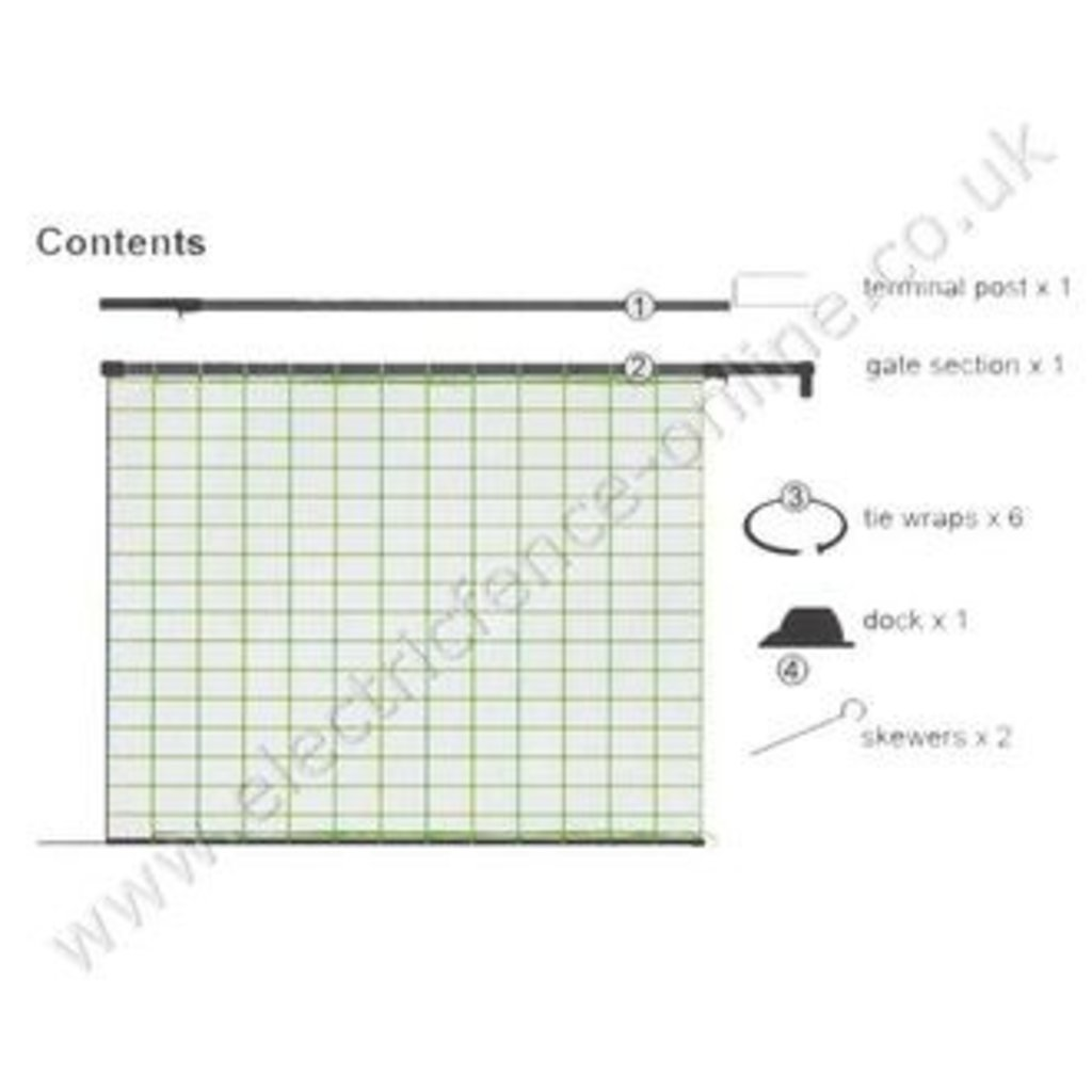 Hot Gate for Poultry Netting   Electric Fencing Gates