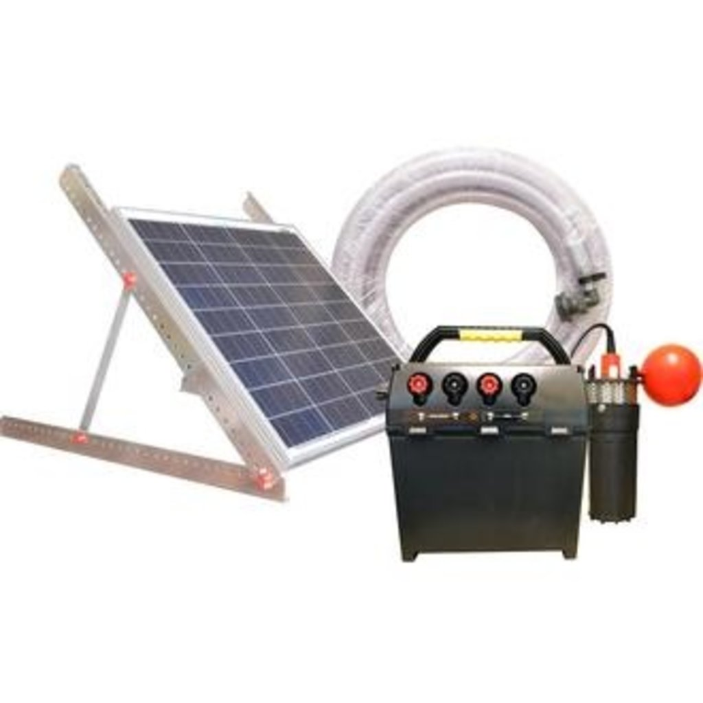 30m Solar Water Pump Kit - Electric Fence Online