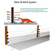 Permanent Electric Fence kit for Otter & Mink - 50m