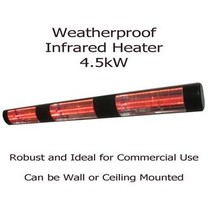 Electric Fence Online Commercial Infrared 4.5Kw Waterproof Heater