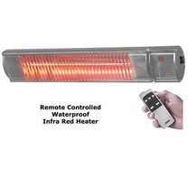 "Electric Fence Online Metal ""3 in 1"" InfraRed Heater - Waterproof with Remote"