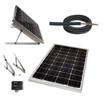 Electric Fence Online 30W Solar Electric Fencing Package (for HB250, P525)