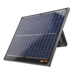 40W Solarpanel + Bracket