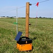 Gallagher B40 Battery Powered Electric Fence Energizer including 4W solar assist