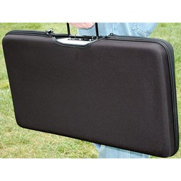 Portable Briefcase Solar Battery Charger kit - 80W, 12v