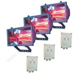 Horse Solarium / Dryer Kit 3x1.3kW | Stable Yard Heaters