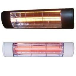 1.5kW S-Glow IP55 Infrared Heater White