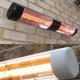 3KW Waterproof Large Area Infrared Heater - White
