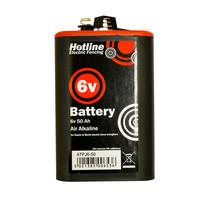 Hotline Hotline 6v 50amp/hr air alkaline for (HLB25, HLB50, Raptor)