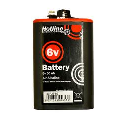 6v 50amp/hr air alkaline for (HLB25, HLB50, Raptor)