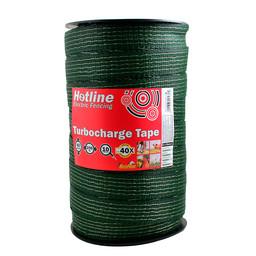 Electric Fence Tape TC46 Turbocharge 40mm x 200m (green)