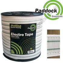 Hotline Hotline Paddock Essentials 40mm Electro-Tape (white)