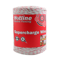 Hotline 500m Spool Hotline 6 Strand Supercharge Polywire