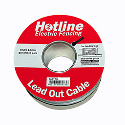 100m x 1.6mm Insulated Steel Lead-Out / Underground Cable