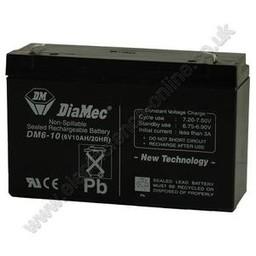 L21 Multi-Purpose Battery (6.0V 10amp/hr) | Electric Fencing Batteries