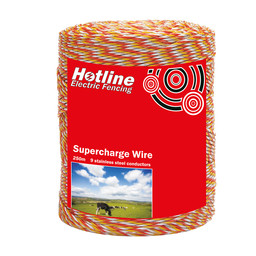 P62 Supercharge Electro-Plastic Polywire | Electric Fencing Wire