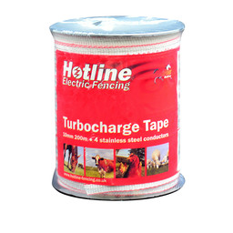 TC41 Turbocharge 10mm Electric Fencing Tape | Electric Fence Online