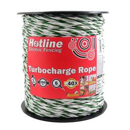 P51 200m Green & White Rope