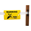 Electric Fence Warning Sign - Pack of 10