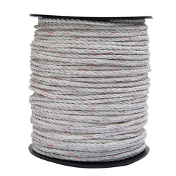 P51 5 mm   200 m Supercharge Electro-Rope - White