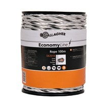 Gallagher Gallagher EconomyLine Rope 100 m - White