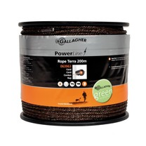 Gallagher Gallagher PowerLine rope braided Terra 200m