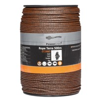 Gallagher Gallagher PowerLine Rope Braided 500 m - Terra