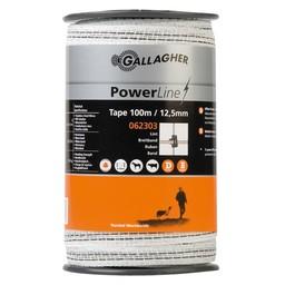 PowerLine Tape 12.5 mm | 100 m - White