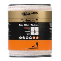 Gallagher Gallagher TurboLine Tape 12.5 mm | 200 m - White