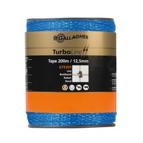 Gallagher Gallagher TurboLine tape 12,5mm Blue 200m