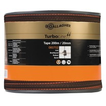Gallagher Gallagher TurboLine tape 20mm Terra 200m