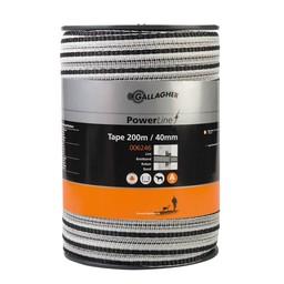 PowerLine Tape 40 mm   200 m - White