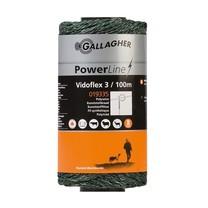 Gallagher Gallagher Vidoflex 3 PowerLine 100 m - Green