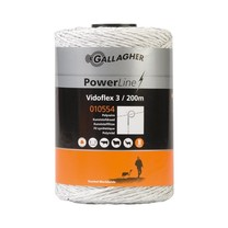 Gallagher Gallagher Vidoflex 3 PowerLine 200 m - White