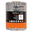 Vidoflex 6 PowerLine 200 m - White