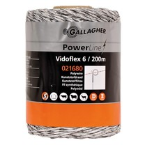 Gallagher Gallagher Vidoflex 6 PowerLine 200 m - White